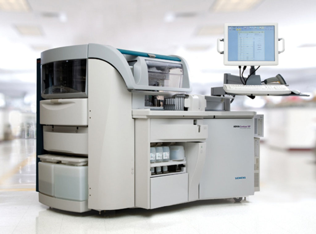 Image: The ADVIA Centaur XP (Photo courtesy of Siemens Healthineers).