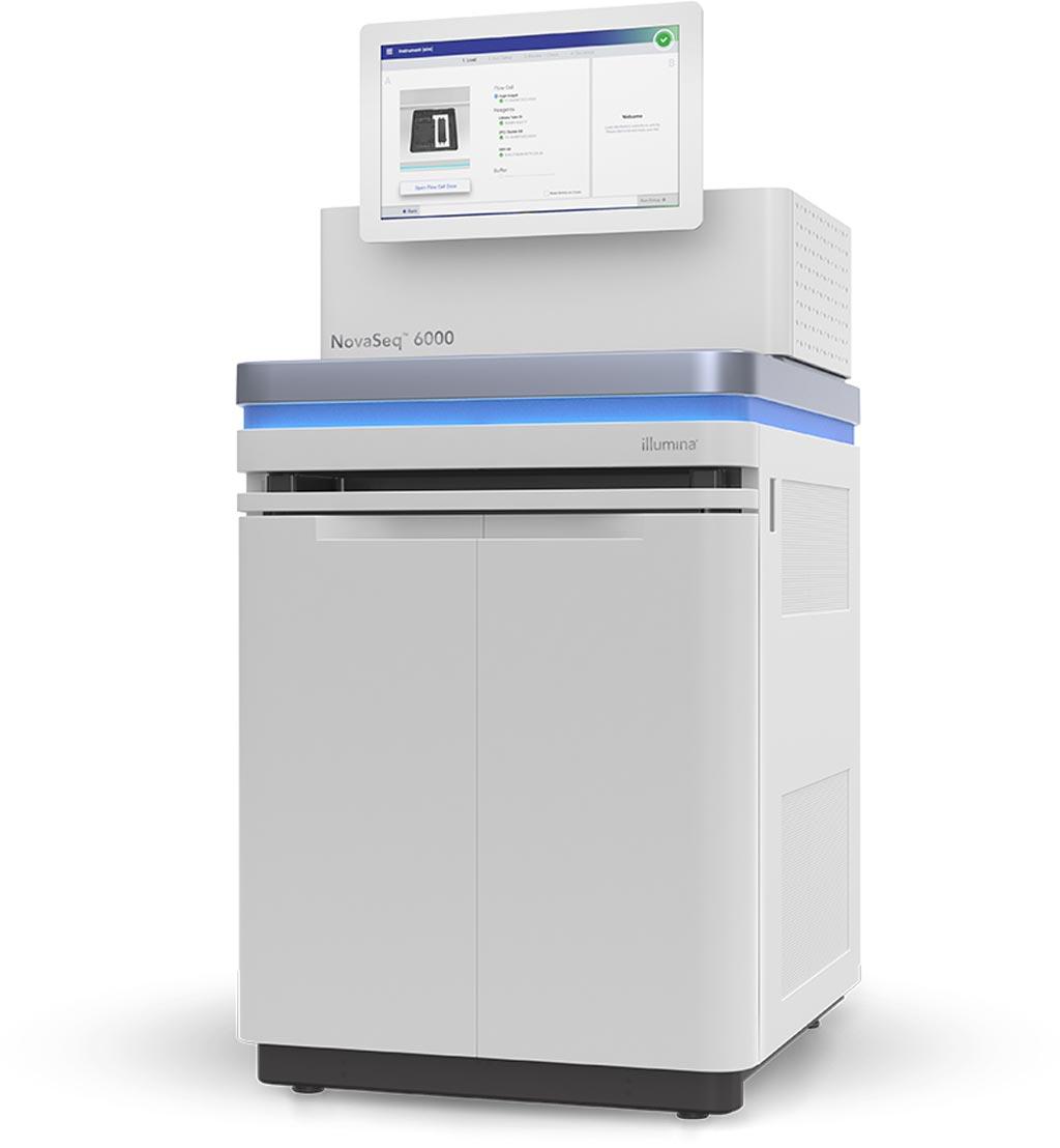 Image: The NovaSeq 6000 system (Photo courtesy of Illumina).