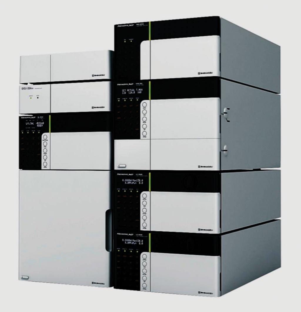 Image: The Nexera ultra high performance liquid chromatograph (UHPLC) system (Photo courtesy of Shimadzu).