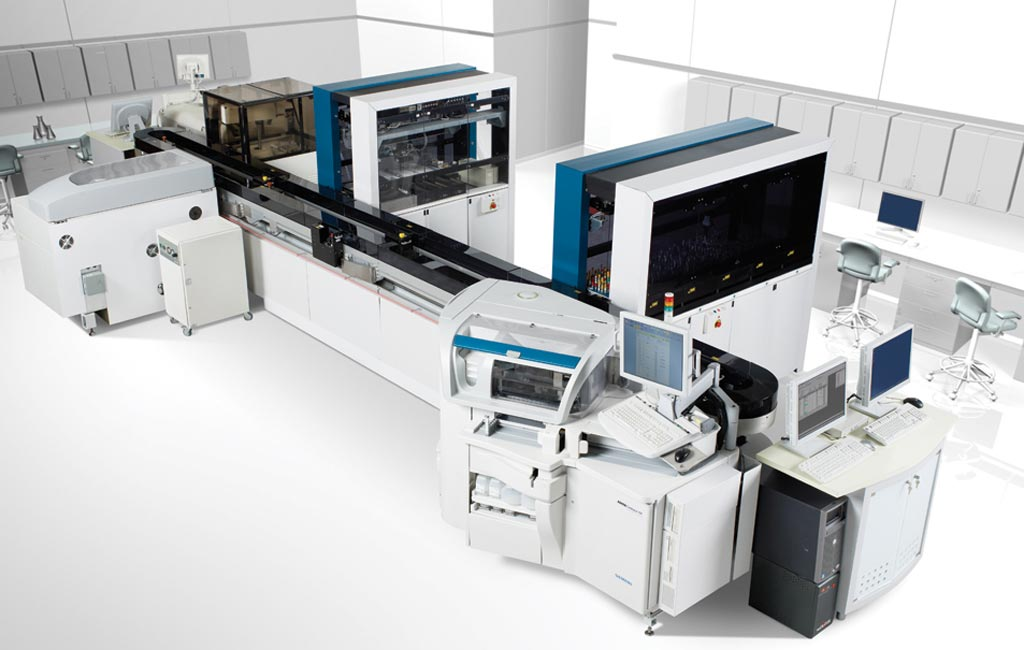 Image: The Aptio automation solution is designed to enhance lab productivity (Photo courtesy of Siemens Healthineers).