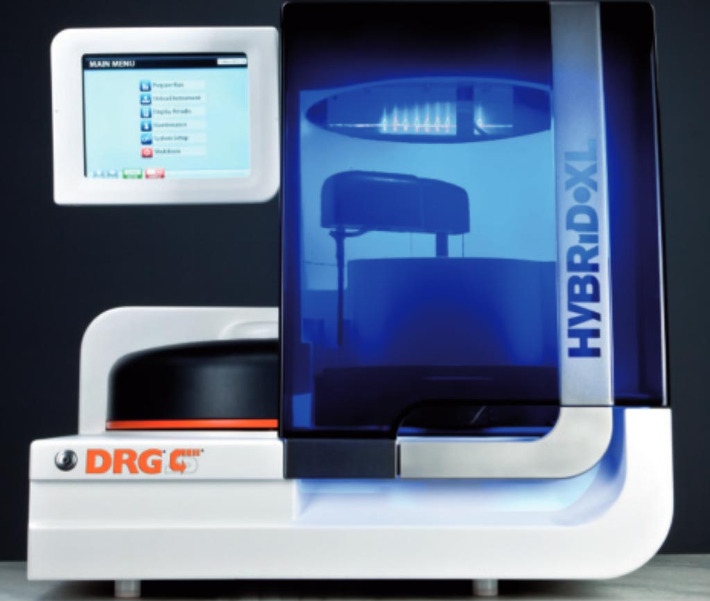 Image: The DRG:HYBRiD-XL random access analyzer (Photo courtesy of DRG).