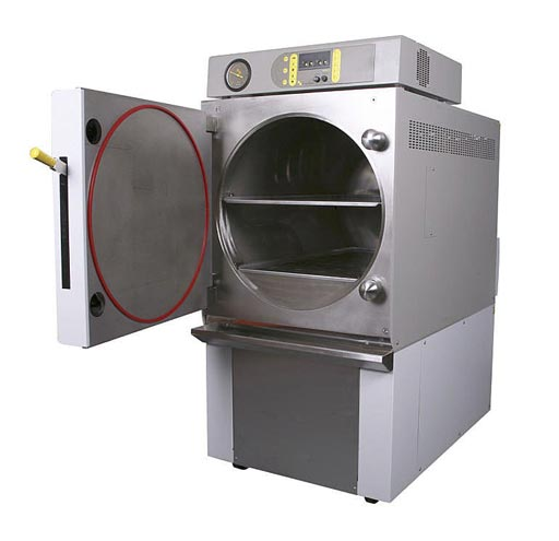 Image: The EH150 lab autoclave (Photo courtesy of Priorclave).