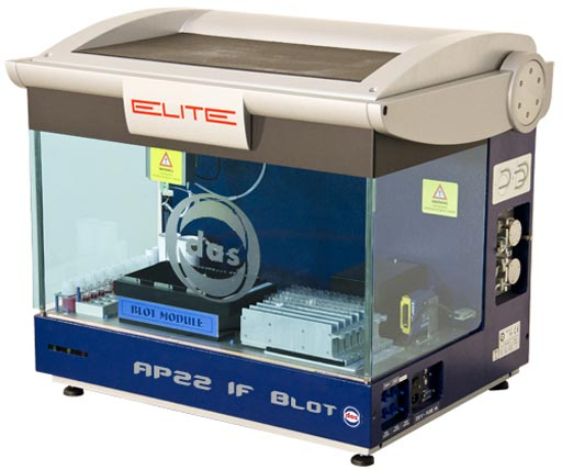 Image: The AP22 IF BLOT ELITE system (Photo courtesy of Das SRL).