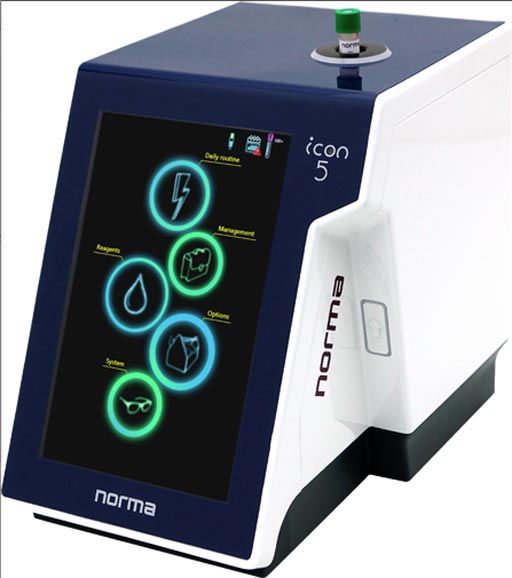 Image: The Icon 5 hematology analyzer (Photo courtesy of Norma Diagnostika).