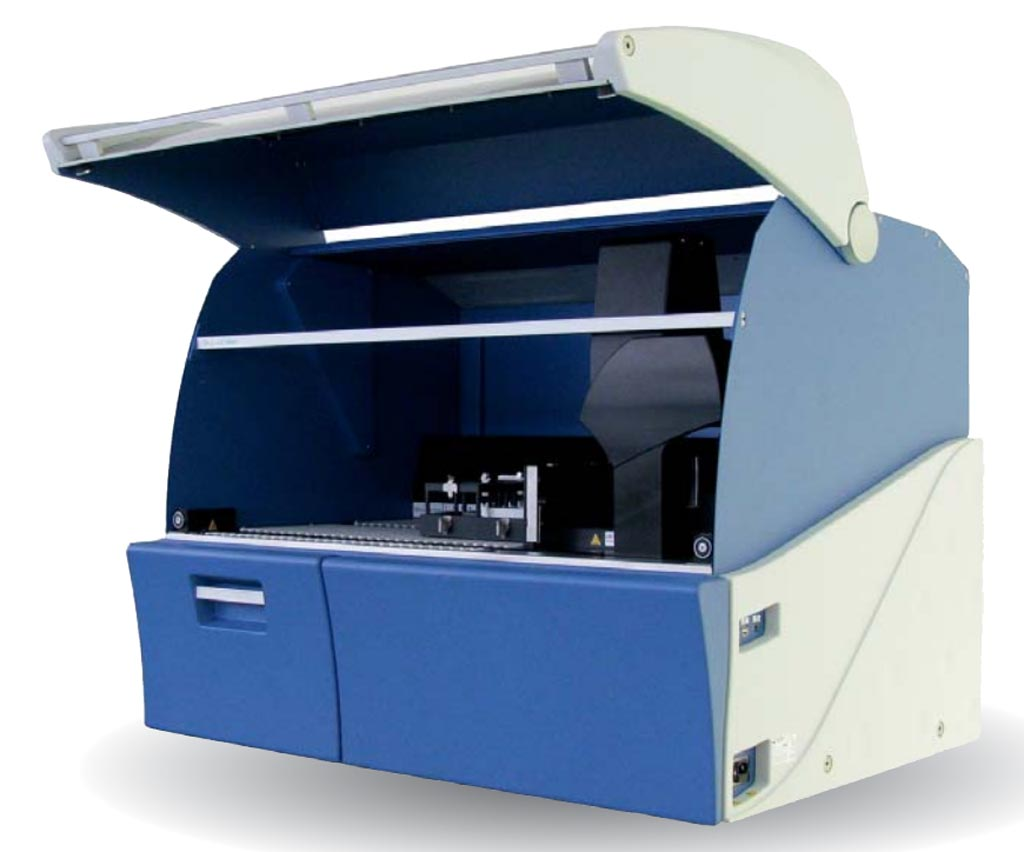 Image: The SkyLAB752 ELISA analyzer (Photo courtesy of AXA Diagnostics).
