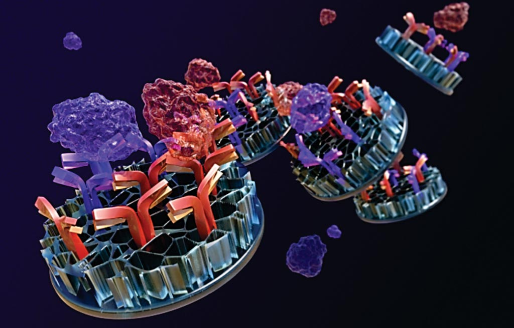 Image: The newly developed NanoDisk-MS assay, could significantly improve TB diagnosis and management because it is the first test that can measure the severity of active TB infections (Photo courtesy of Jason Drees, Biodesign Institute at Arizona State University).