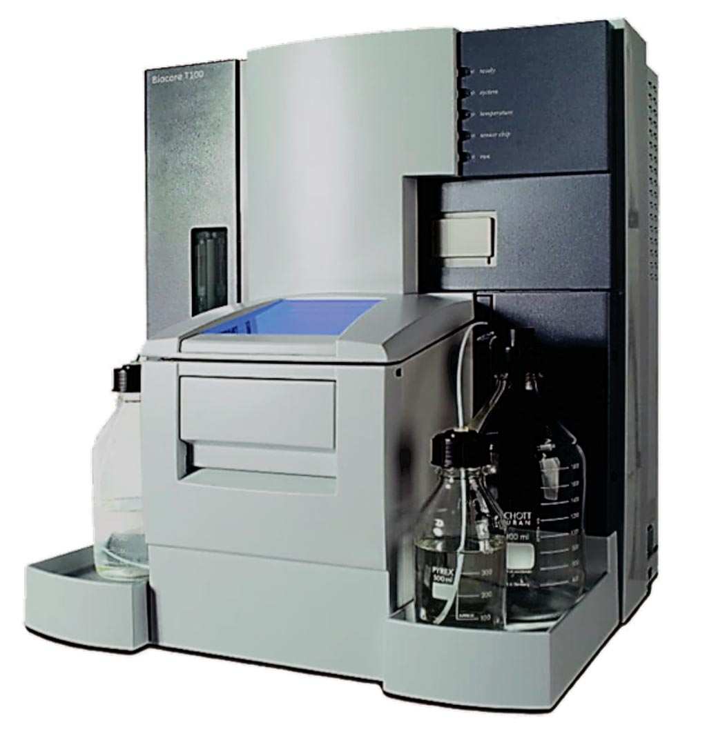 Image: The Biacore T200 used for single-cycle kinetic surface plasmon resonance (Photo courtesy of GE Healthcare).