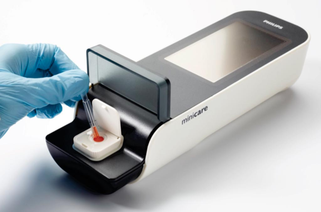 Image: The Minicare I-20 system, for rapid diagnosis of a heart attack at the point of care (Photo courtesy of Philips Healthcare).