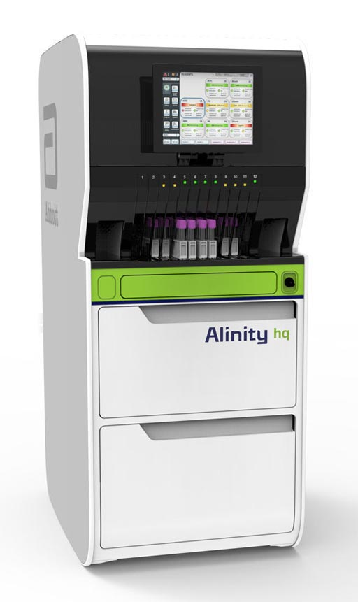 Image: The next-generation Alinity hq hematology analyzer (Photo courtesy of Abbott Diagnostics).