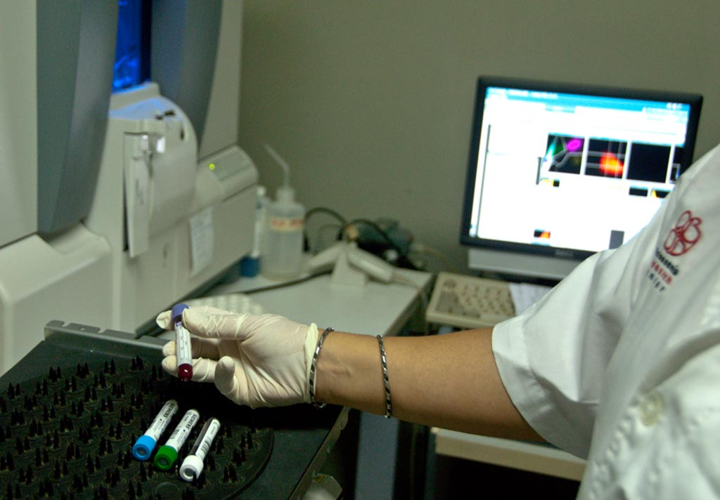 Image: Clinical scientists analyzed the platelet counts of 249 patients with thalassemia, which were compared with the international reference method (IRM) for platelet counting in patients with thalassemia (Photo courtesy of Mahidol University).