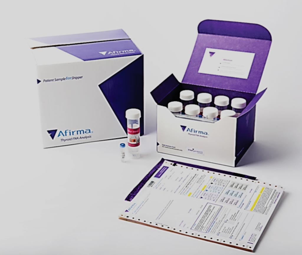 Image: The Afirma Gene Expression Classifier kit for thyroid FNA Analysis reduces thyroid cancer surgery treatment costs (Photo courtesy of Veracyte).