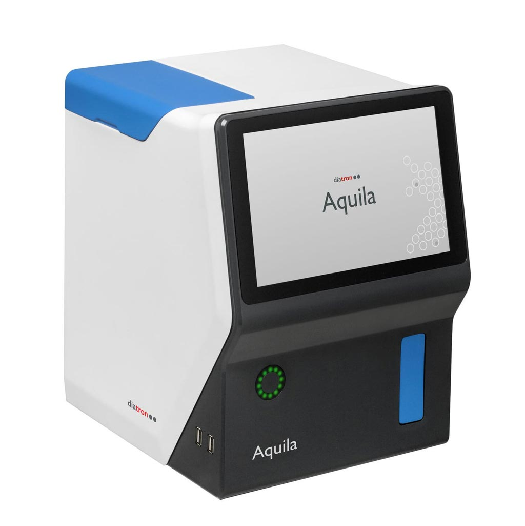 Image: The Aquila 3-part differential hematology analyzer (Photo courtesy of Diatron).