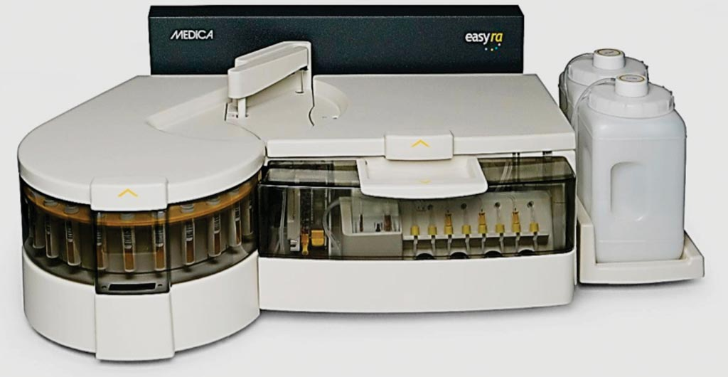 Image: The EasyRA clinical chemistry system (Photo courtesy of Medica).
