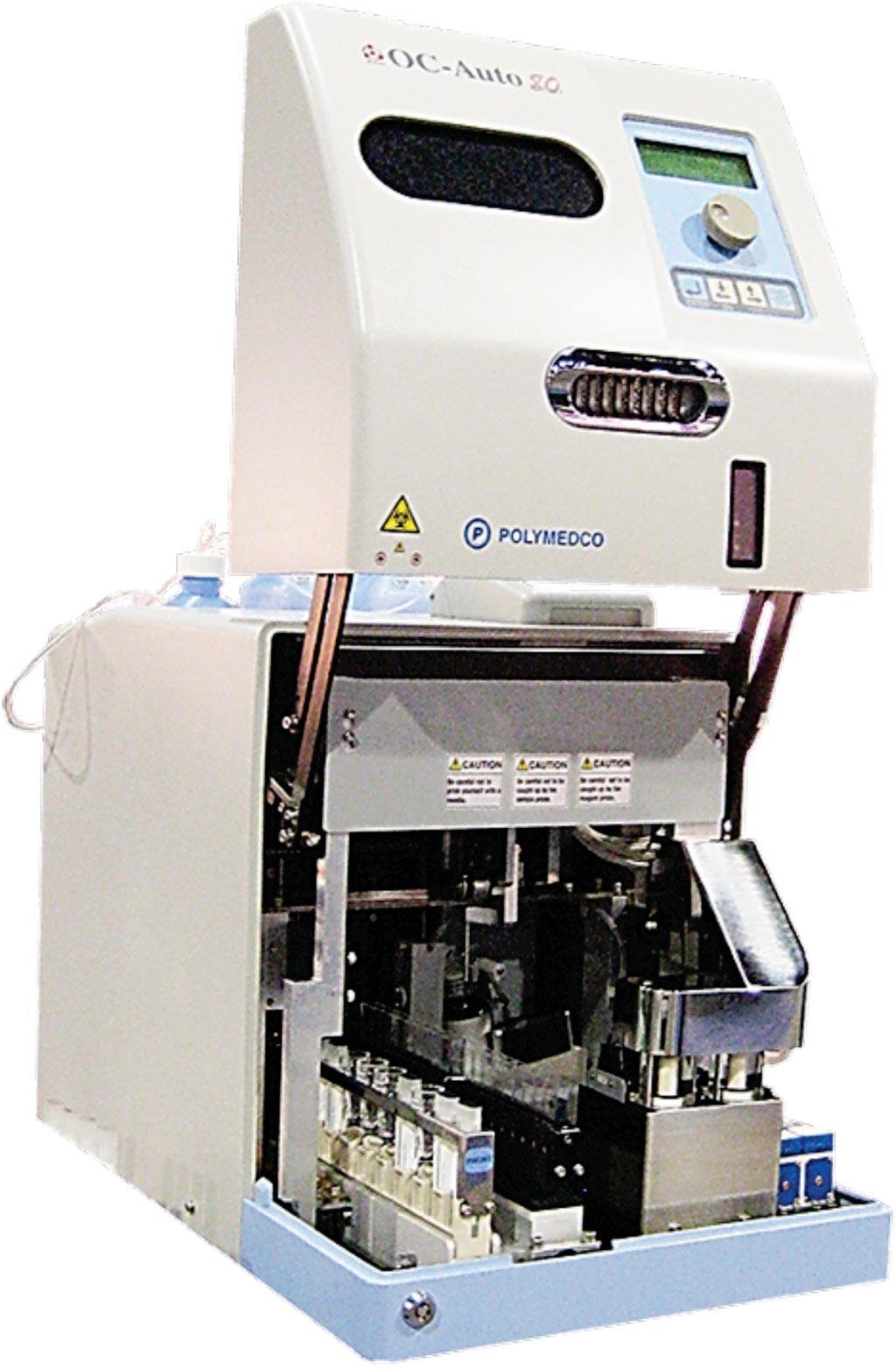 Image: The Polymedco OC auto 80 analyzer (Photo courtesy of Polymedco).