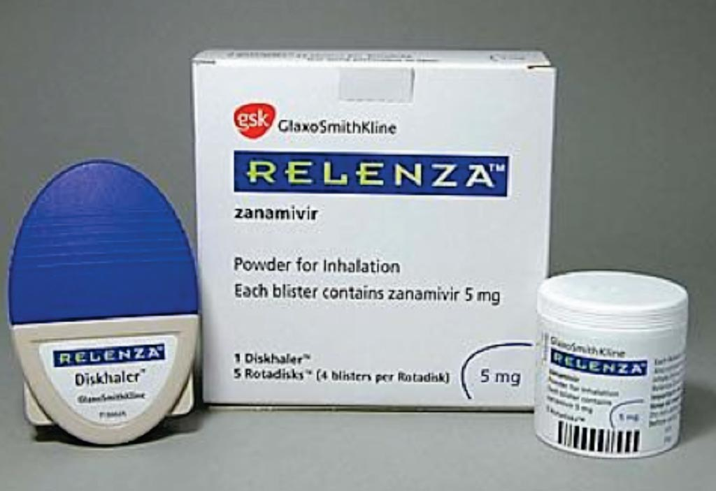 Image: Relenza (zanamivir) is a prescription inhalation powder for the treatment and prevention of influenza (Photo courtesy of GlaxoSmithKline).