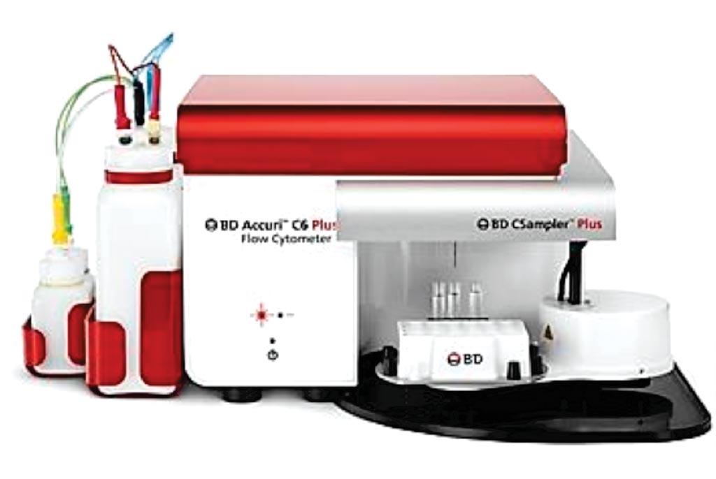 Image: The Accuri C6 Plus flow cytometer (Photo courtesy of BD Biosciences).