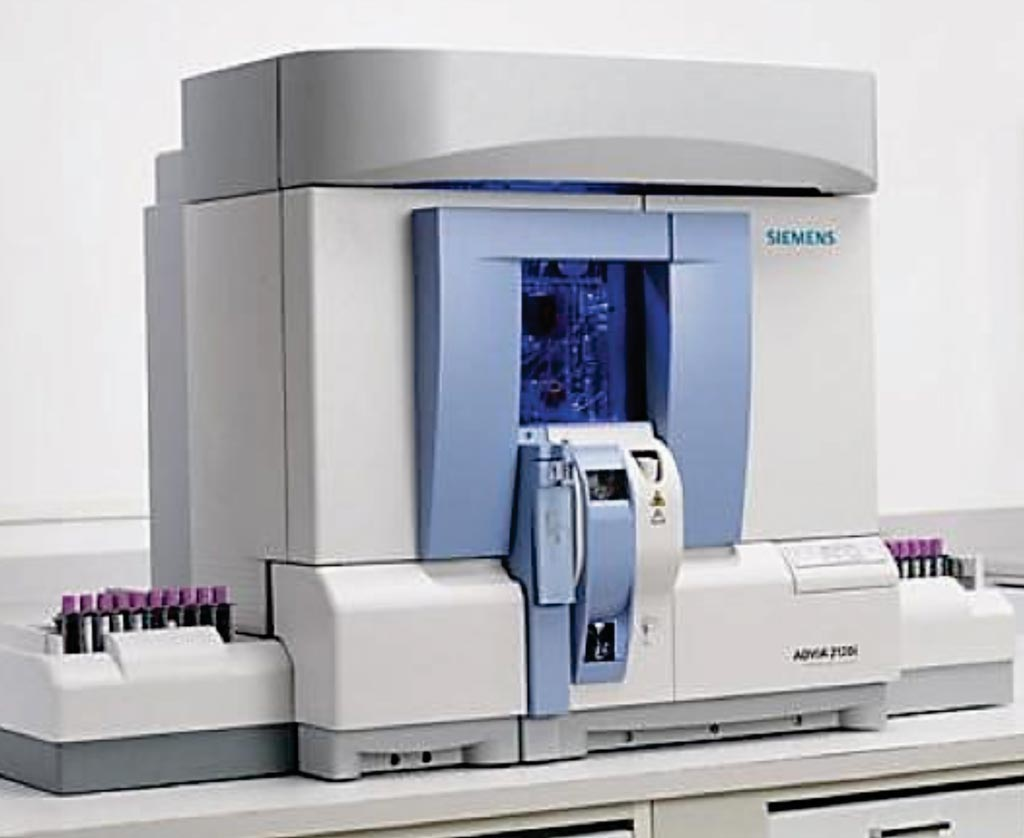 Image: The ADVIA 2120 hematology analyzer (Photo courtesy of Siemens Healthcare).
