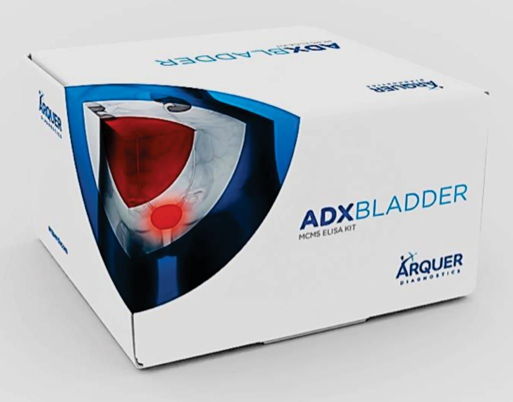 Image: The ADXBLADDER MCM5 ELISA kit for the diagnosis of bladder cancer (Photo courtesy of Arquer Diagnostics).
