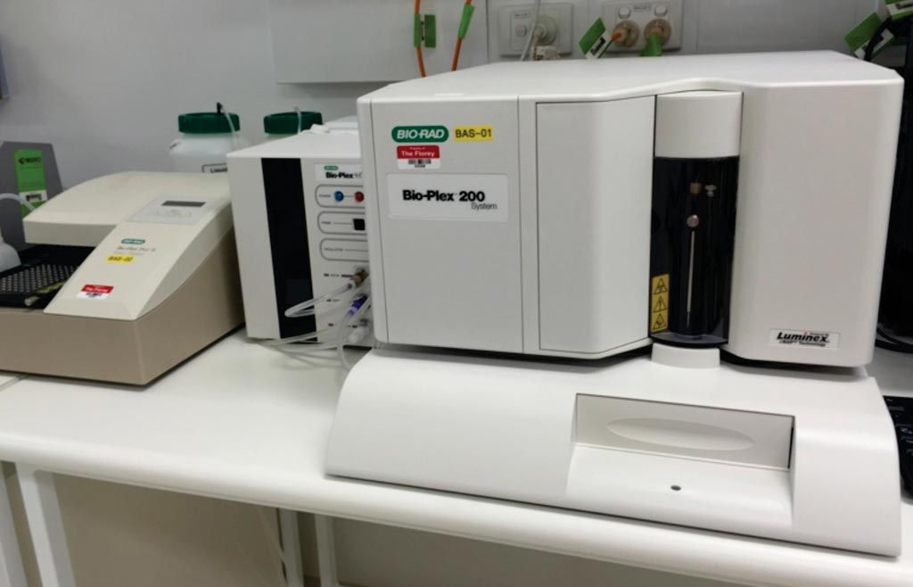 Image: The Bio-Plex 200 is a suspension multiplexing array fluorescence reader used for multiplex assays that allows to measure up to 100 biomolecule of protein or nucleic acid in a single sample (Photo courtesy of Bio-Rad Laboratories).