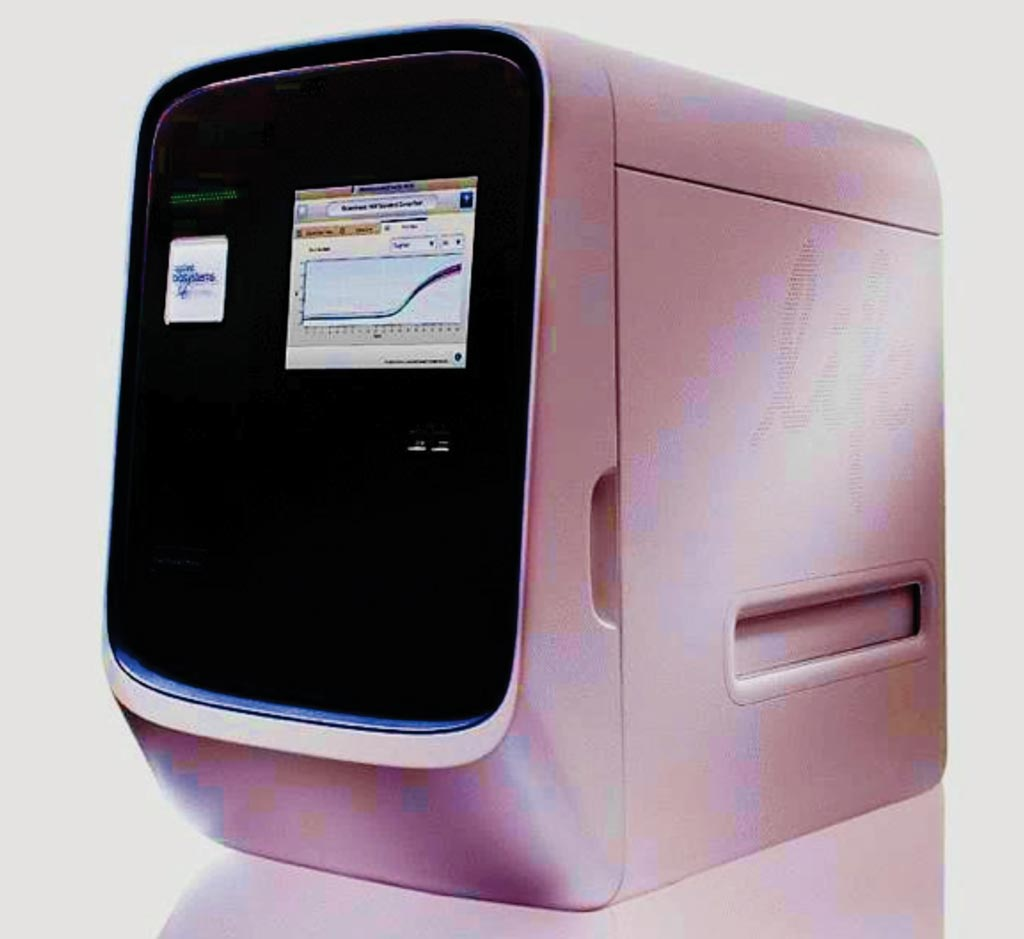 Image: The QuantStudio 12K Flex real-time polymerase chain reaction (PCR) system instrument (Photo courtesy of Thermo Fisher Scientific).