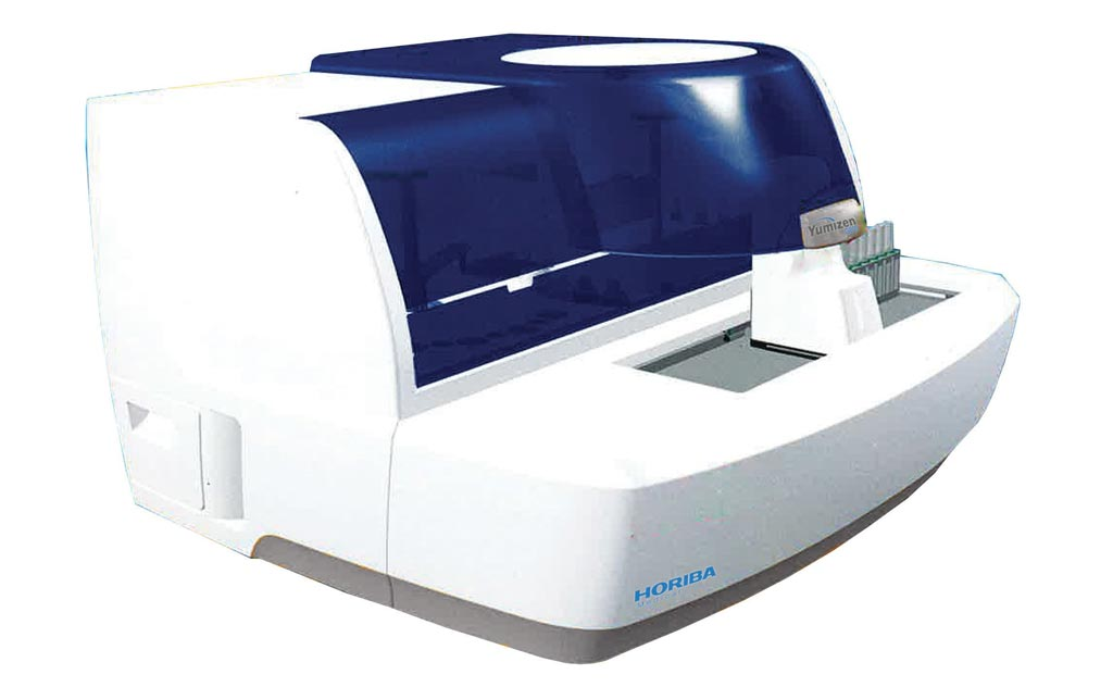 Image: The G800 coagulation analyzer (Photo courtesy of HORIBA Medical).