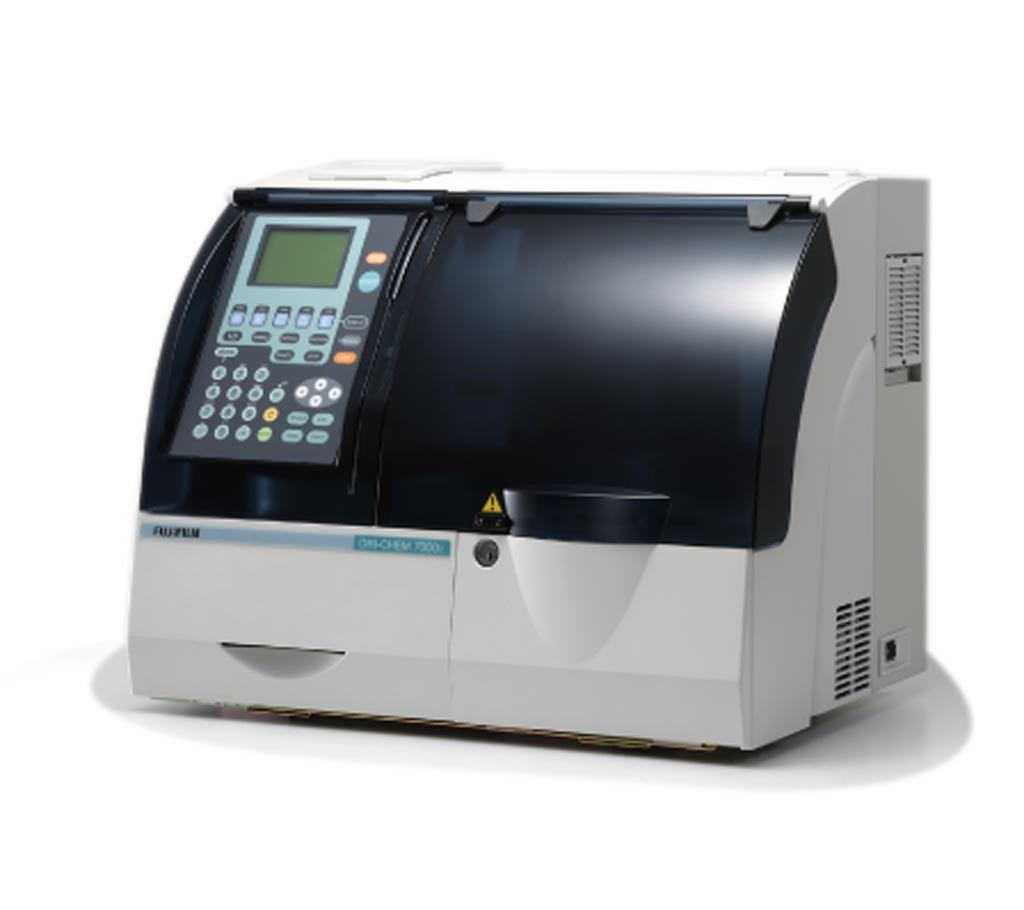 The DRI-CHEM NX700 dry chemistry analyzer (Photo courtesy of Fujifilm).