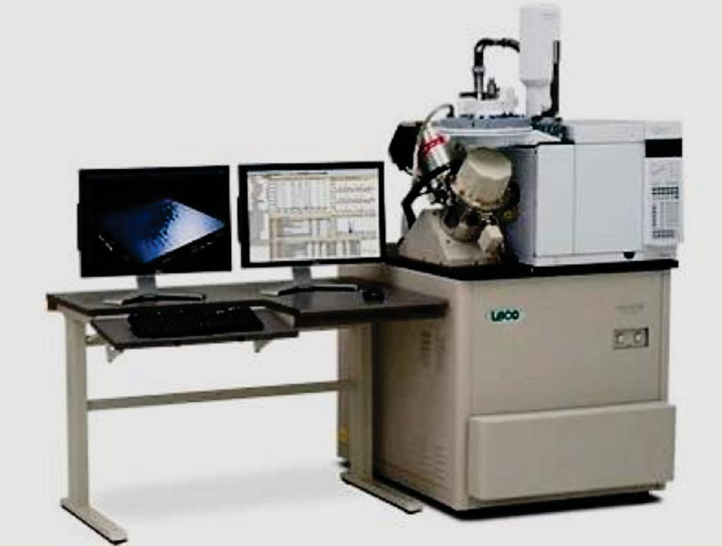 Image: The Pegasus 4D comprehensive 2D gas chromatography with TOF MS (Photo courtesy of LECO).