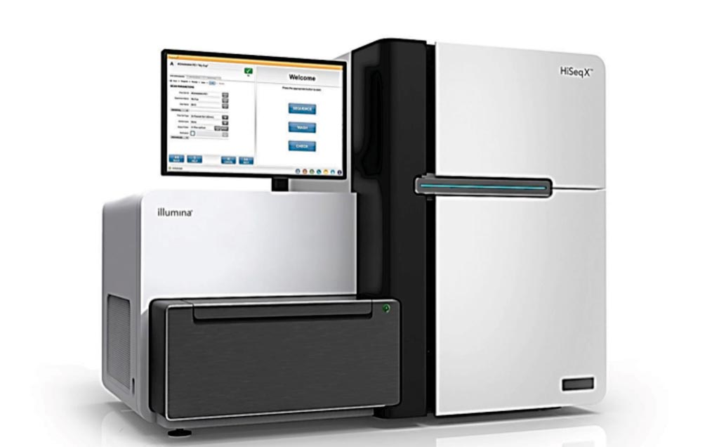 Image: The HiSeq X whole genome sequencing system (Photo courtesy of Illumina).