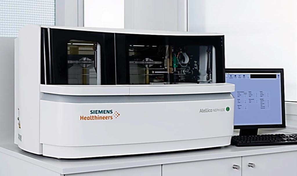 Image: The Nephelometer analyzer BN II (Photo courtesy of Siemens Healthcare).