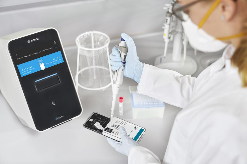Image: The Vivalytic all-in-one fully automated solution for molecular diagnostics (Photo courtesy of Randox Laboratories and Bosch Healthcare Solutions).