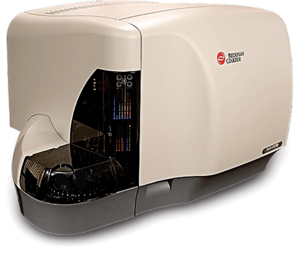 Image: The Navios clinical flow cytometer (Photo courtesy of Beckman Coulter).