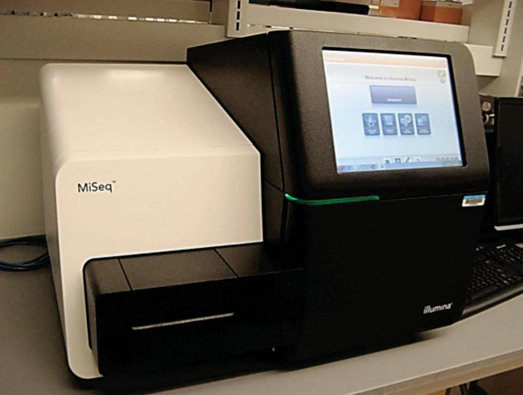 Image: The MiSeq bench-top sequencer (Photo courtesy of Illumina).