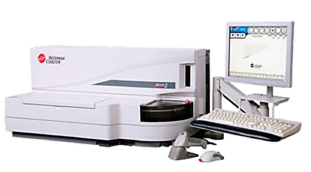 Image: The Access 2 benchtop immunoassay system (Photo courtesy of Beckman Coulter Diagnostics).