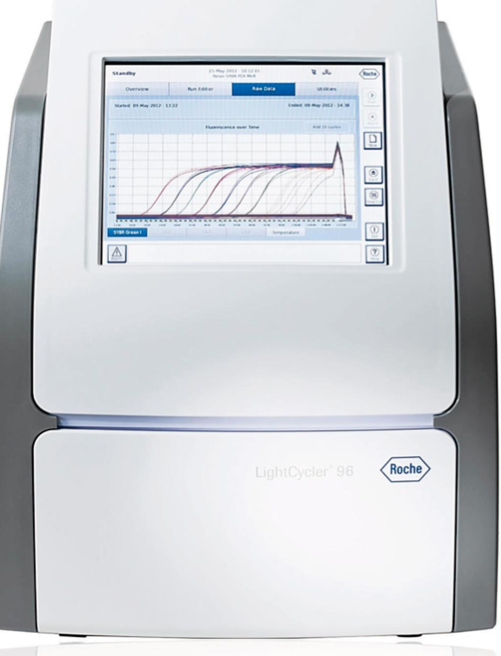 Image: The LightCycler 96 real-time PCR system (Photo courtesy of Roche Diagnostics).