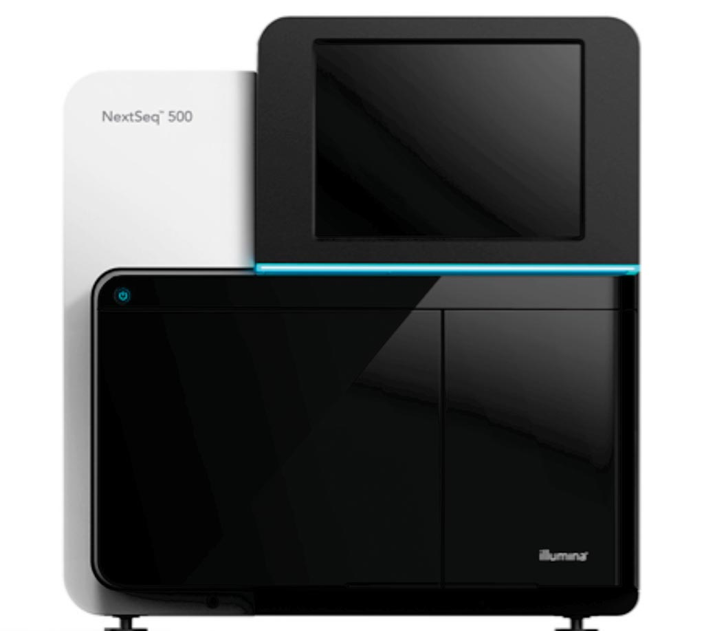 Image: The NextSeq 500 desktop sequencing platform (Photo courtesy of Illumina).