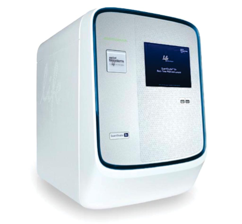 Image: The QuantStudio6 Flex real-time PCR system (Photo courtesy of Thermo Fisher Scientific).