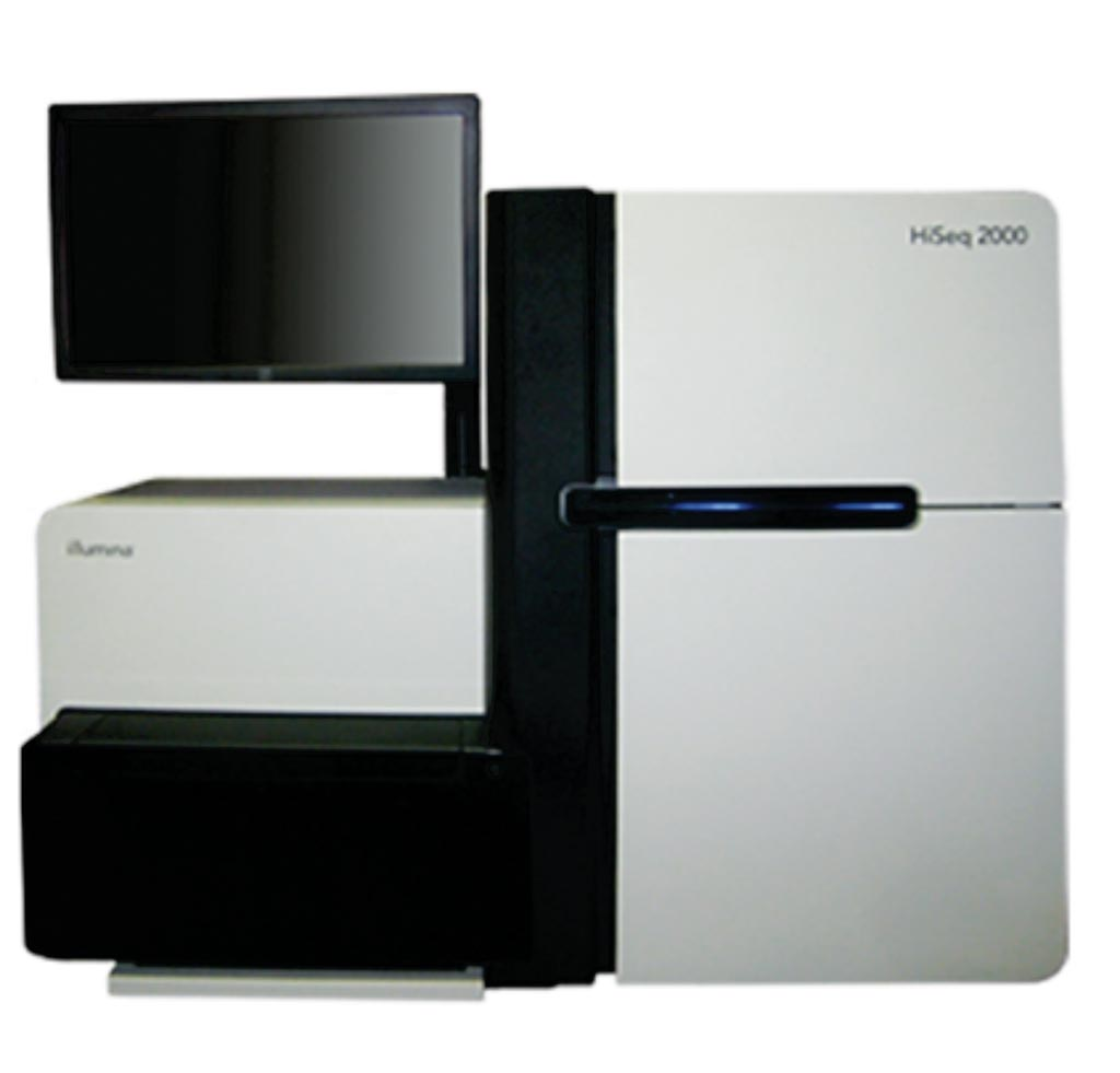 Image: The HiSeq 2000 sequencing platform (Photo courtesy of Illumina).