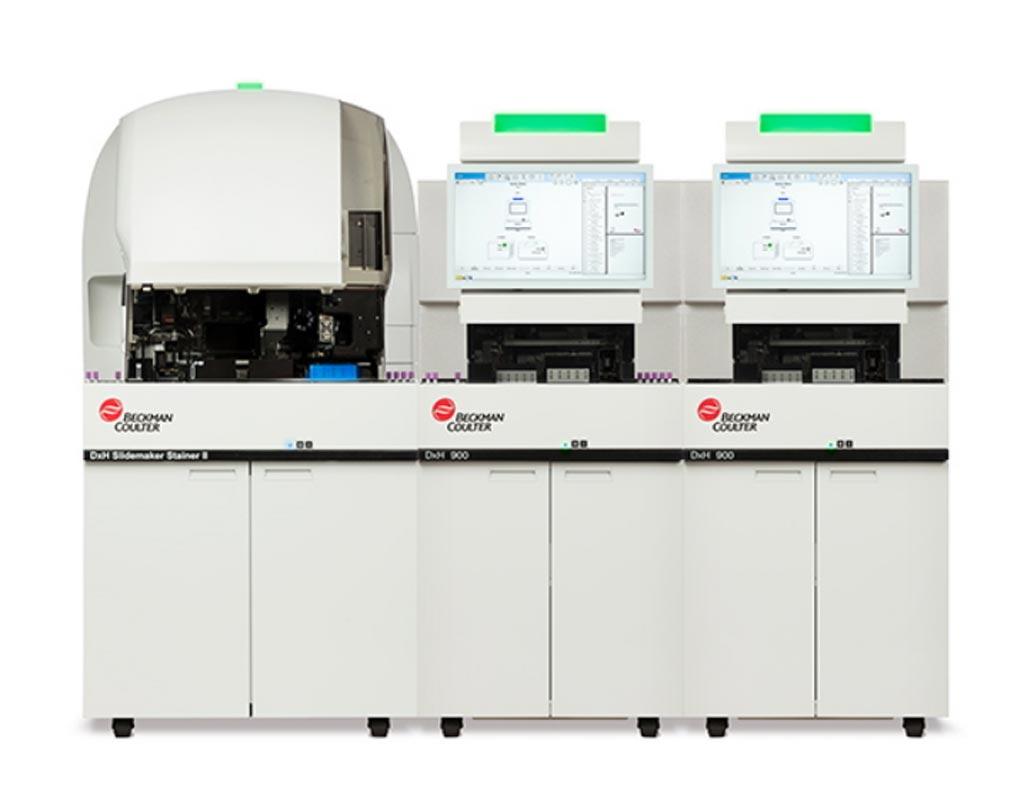 Image: The DxH 900 hematology analyzer (Photo courtesy of Beckman Coulter).
