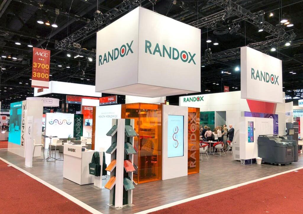 Image: At AACC 2018, Randox highlighted a wide range of its testing products and biotech advances (Photo courtesy of Randox Laboratories).