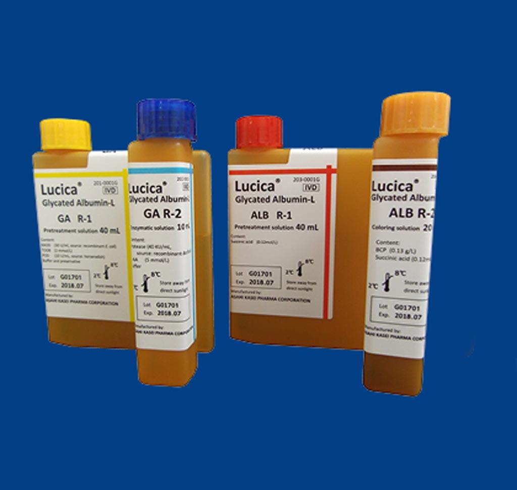 Image: The Glycated Albumin (GA) assay kit (Photo courtesy of EKF Diagnostics).