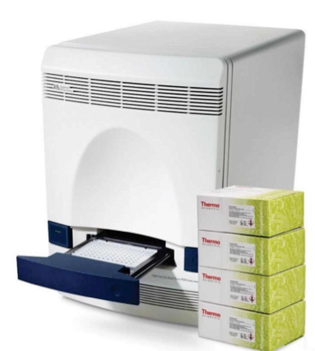 Image: The Applied Biosystems 7500 real-time PCR System (Photo courtesy of Thermo Fisher Scientific).