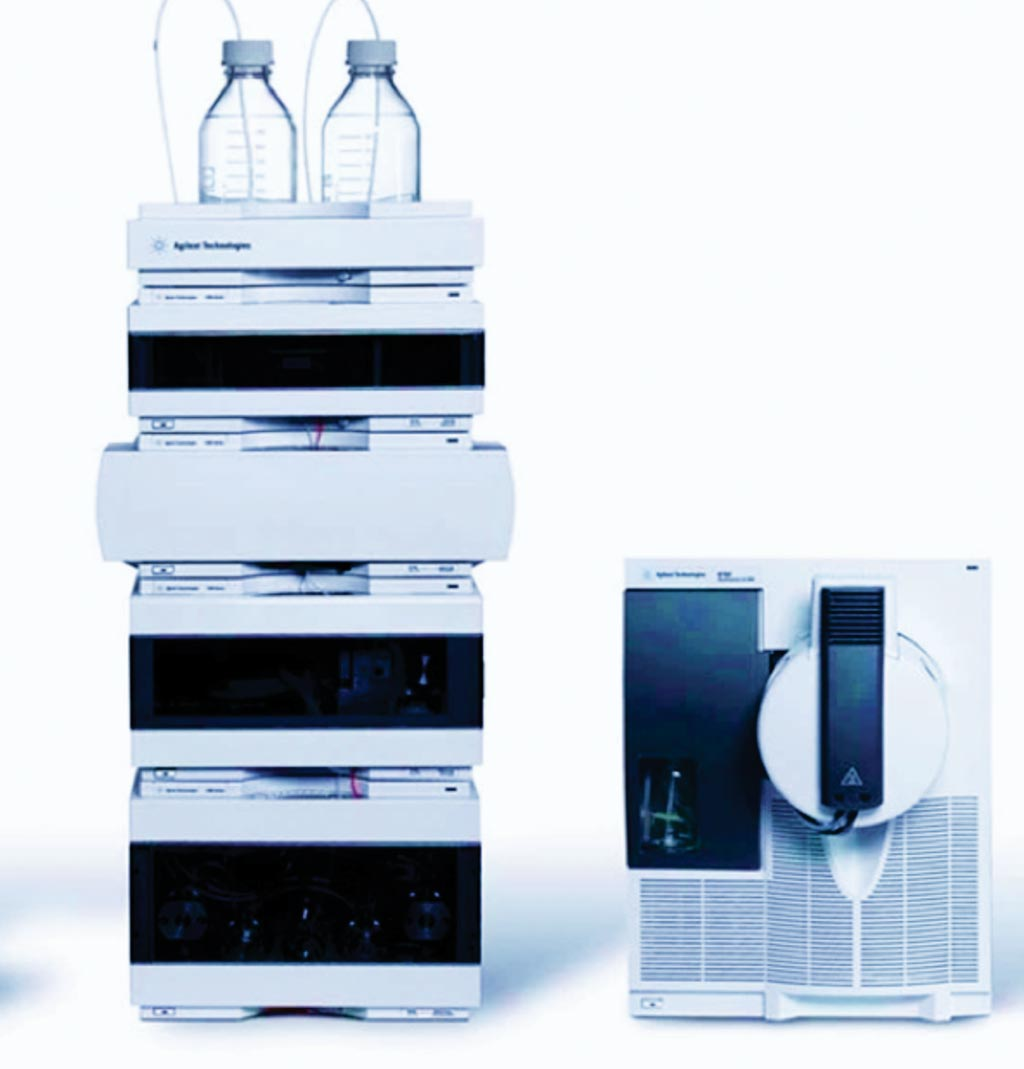 Image: An Agilent 1290 ultra-high performance liquid chromatograph (UHPLC) coupled to an Agilent G6490 Triple Quadrupole Mass Spectrometer (Photo courtesy of Agilent Technologies).