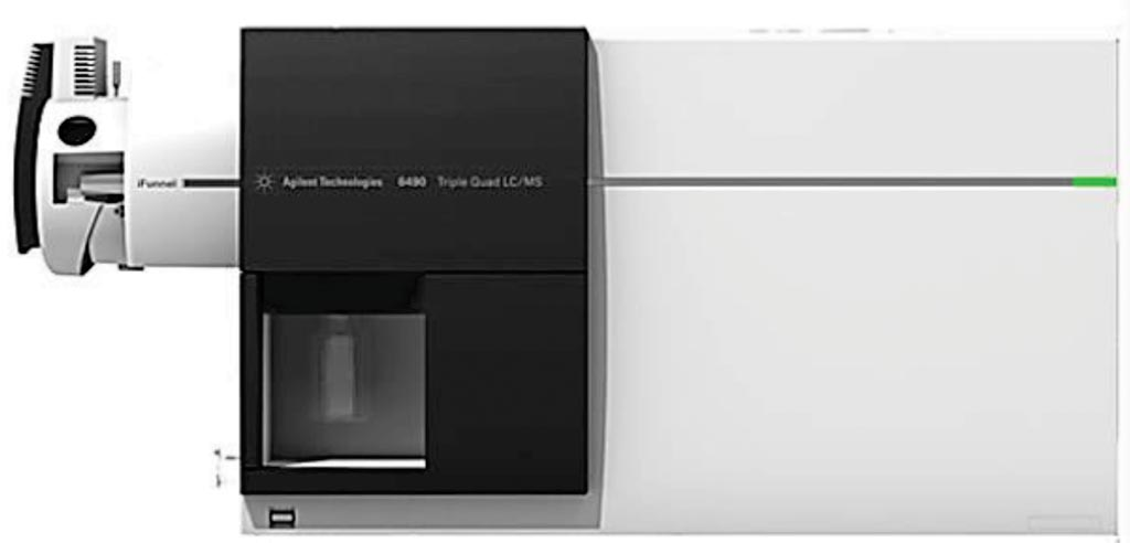Image: An Agilent 6490 triple quadrupole mass spectrometer (Photo courtesy of Agilent Technologies).
