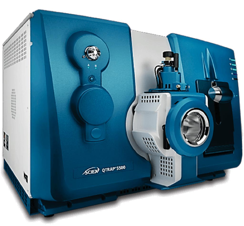 Image: The QTRAP 6500 Q-Trap mass spectrometer (MS) (Photo courtesy of Sciex).