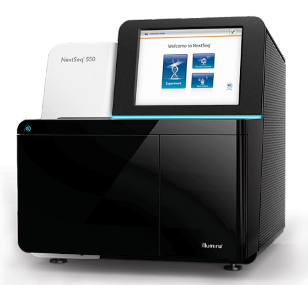 Image: The NextSeq 550 System brings the power of a high-throughput sequencing system to the benchtop (Photo courtesy of Illumina).