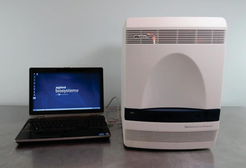Image: The ABI 7500 Real-Time PCR system (Photo courtesy of Applied Biosystems).