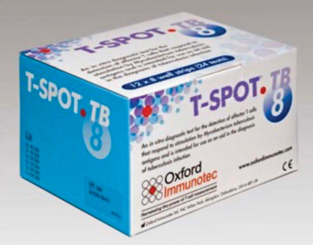 Image: The T-SPOT.TB test is a unique, single-visit blood test for tuberculosis (TB) screening, also known as an interferon gamma release assay (IGRA) (Photo courtesy of Oxford Immunotec).