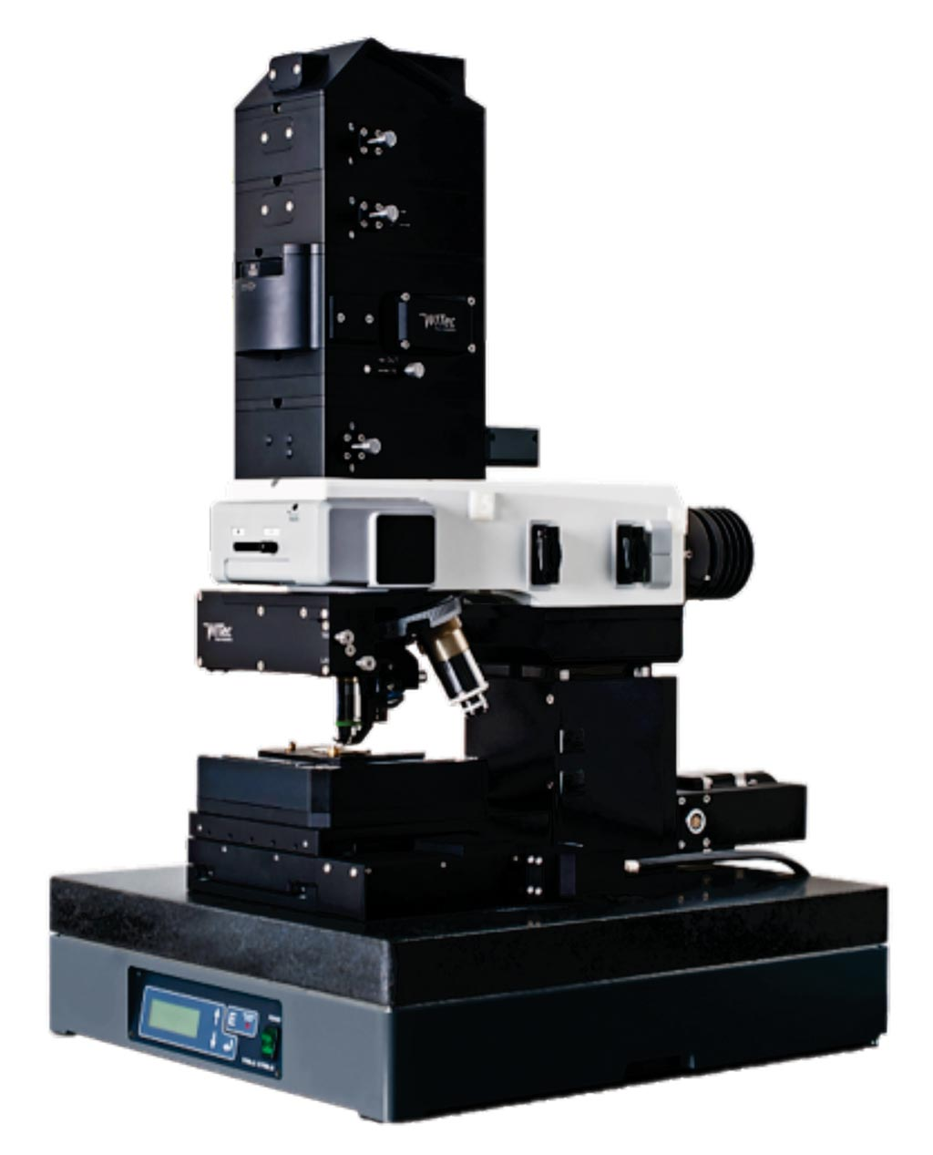 Image: The WITec alpha 300AR confocal Raman microscope (Photo courtesy of WITec).