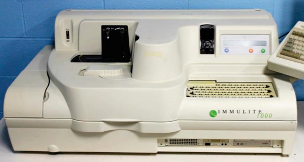 Система IMMULITE 1000 – небольшой настольный иммунологический анализатор (фото предоставлено Siemens Healthcare Diagnostics).