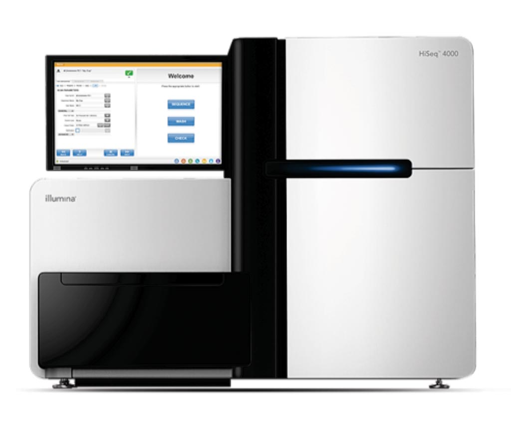 Image: The HiSeq 4000 Systems leverage innovative patterned flow cell technology to provide rapid, high-performance sequencing. Perform production-scale, high-throughput exome or transcriptome sequencing projects quickly and economically (Photo courtesy of Illumina).